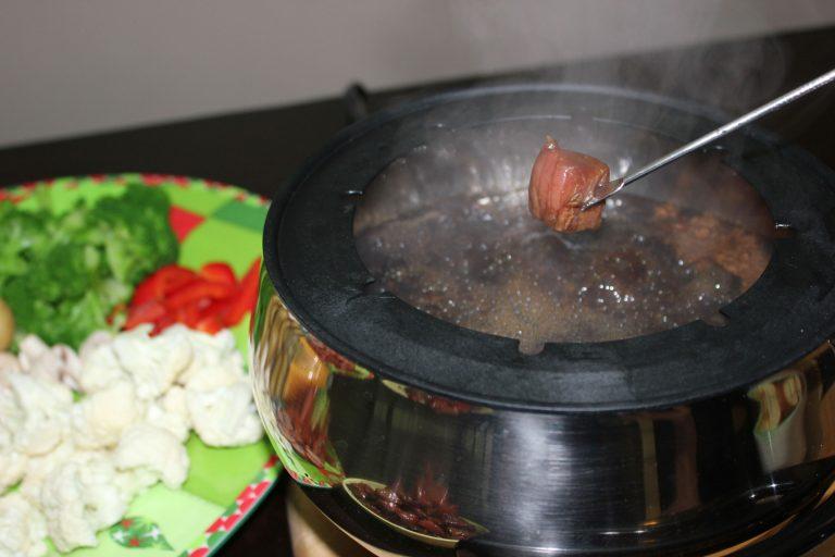 Teriyaki Beef Fondue