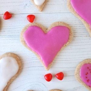 cinnamon heart cookies