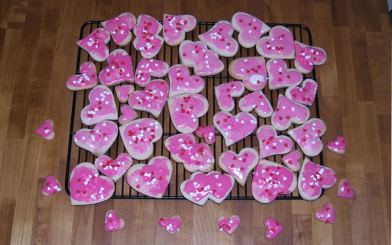cinnamon valentine's day cookies