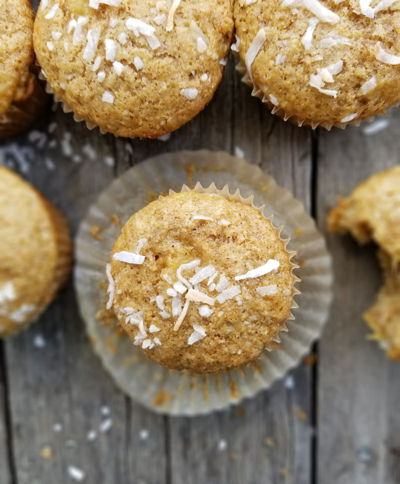 Pina Colada Muffins are a delicious way to start your day!