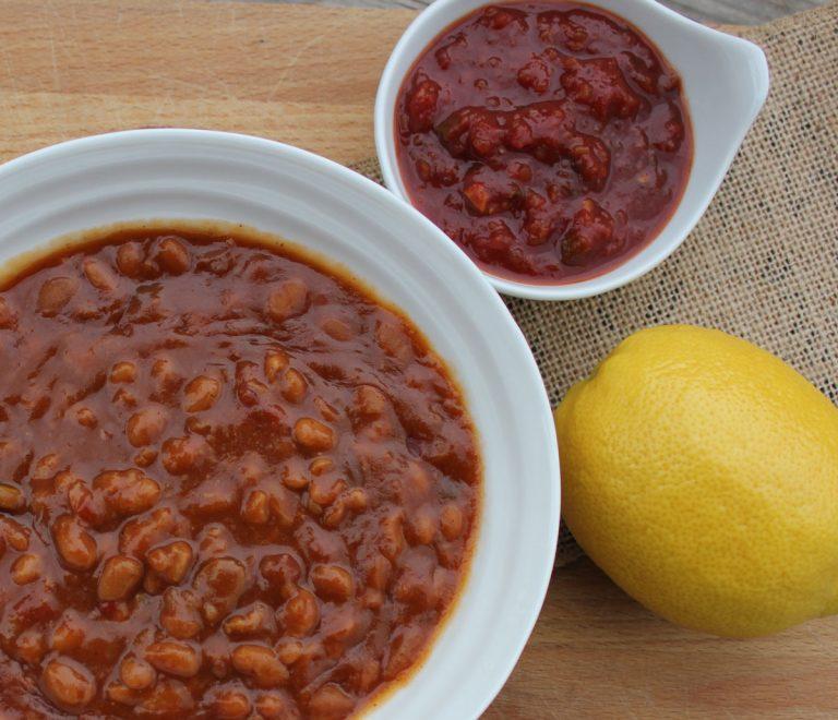 Salsa Baked Beans