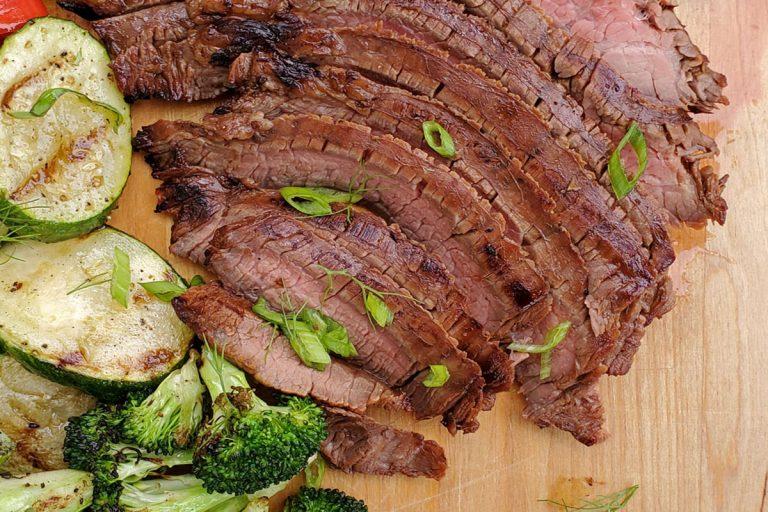 Korean flavoured Flank Steak