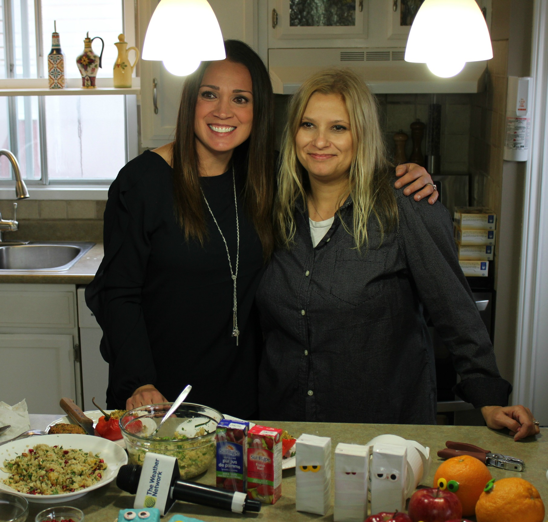 Talking Recipes and Fall Food Hacks in my Kitchen with Deb Matejicka of the Weather Network