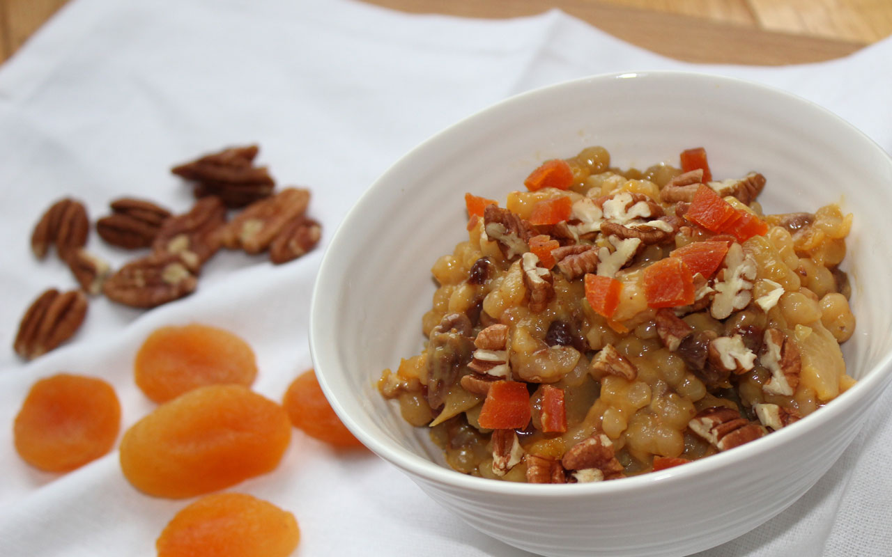 Orange Barley Casserole