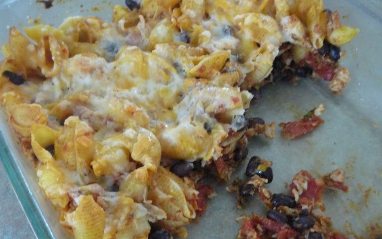 Enchilada Baked Pasta
