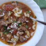 Slow Cooker Beef Minestrone