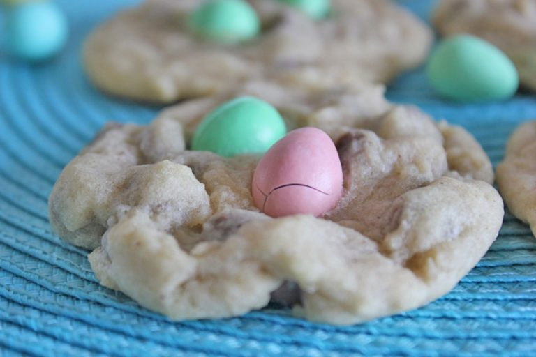 Chocolate Eatser Egg Cookies