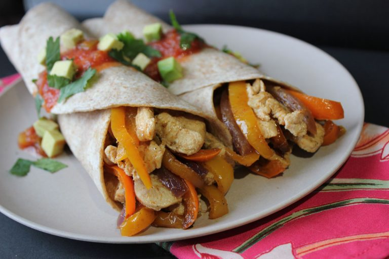 Simple Chicken Fajitas