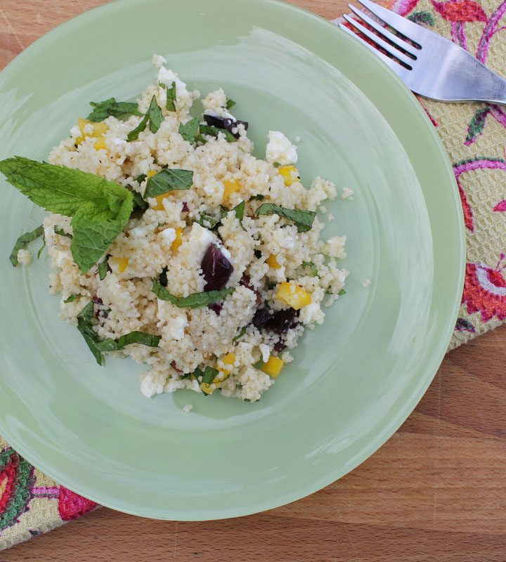 Couscous with Mint