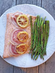 Pancetta and Lemon Salmon