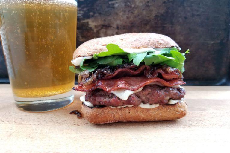 Double Bacon Burger