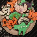 spooky halloween cookies