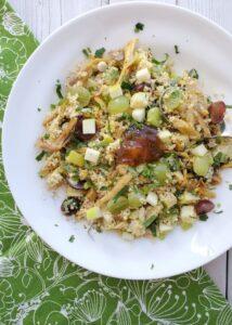 turkey curry quinoa salad
