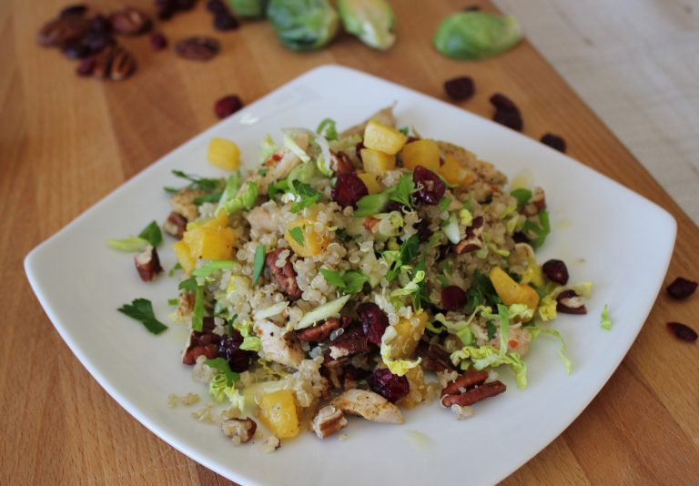 Leftover Turkey Quinoa Salad