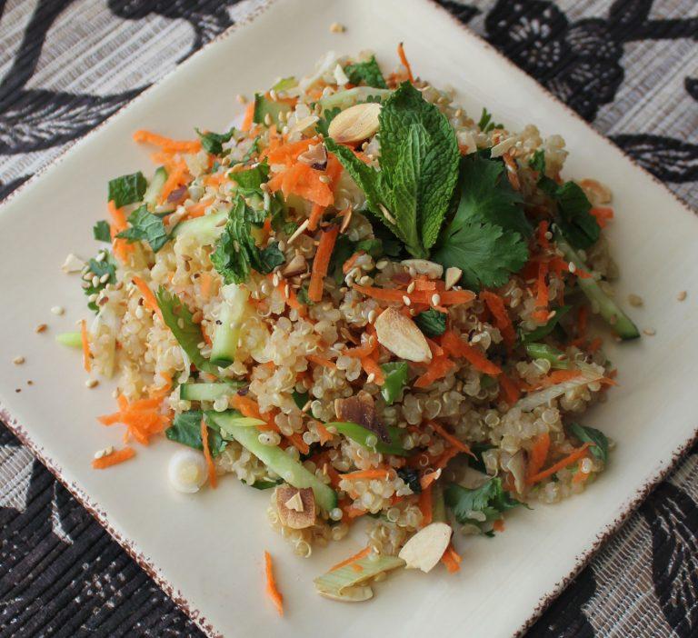 Thai Inspired Quinoa Salad