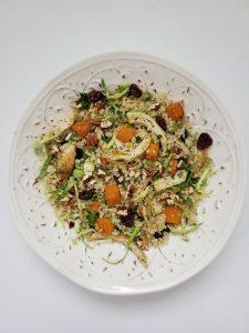 Leftover Turkey Quinoa Salad