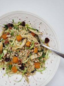 Turkey Leftover Quinoa Salad