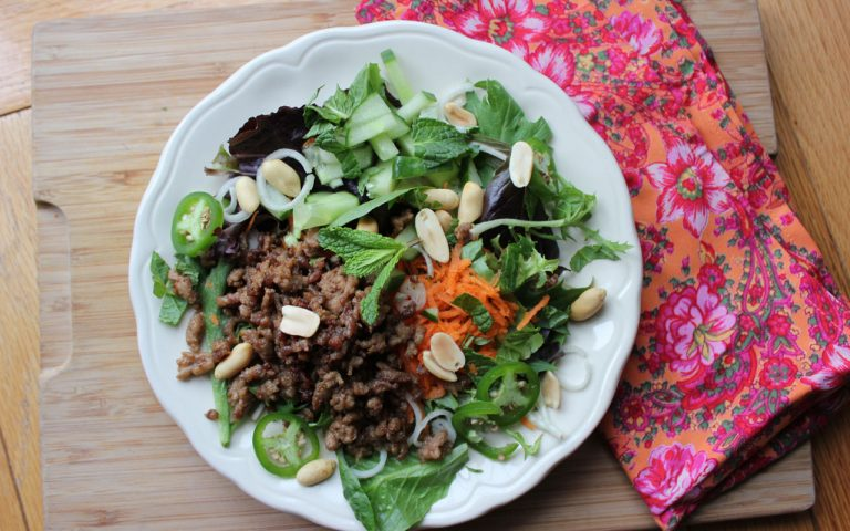 Thai Salad with Jalapeno & Mint