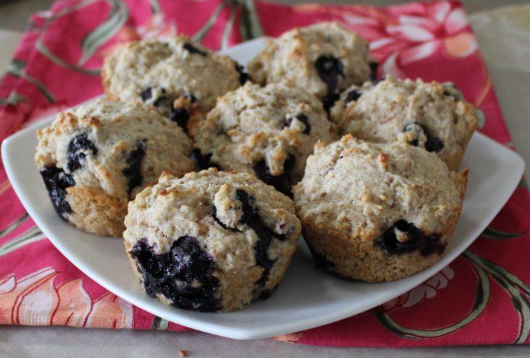 Blueberry Cardamom Muffins