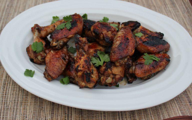 Honeyed Chili Chicken Wings