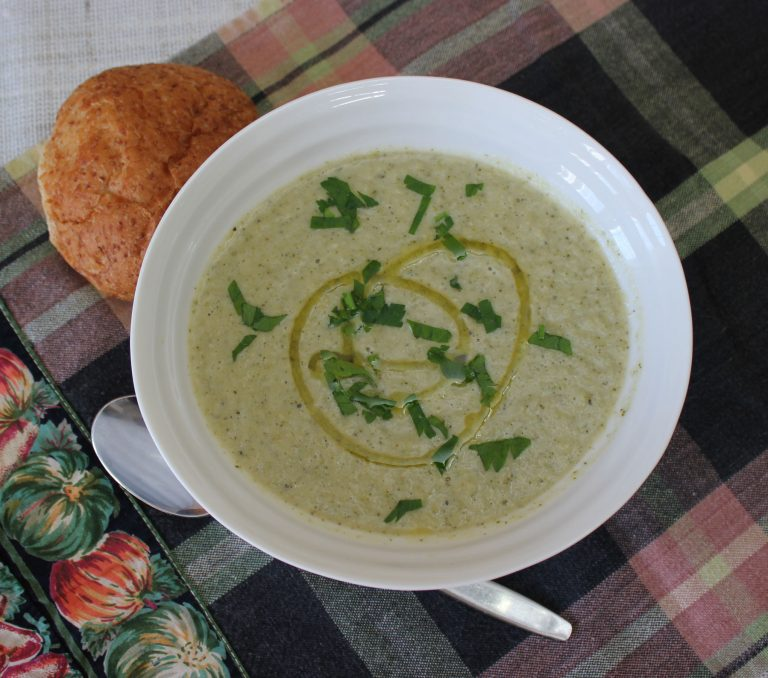 Roasted Fennel and Broccoli Soup