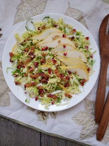Brussels Sprouts Slaw with Pancetta