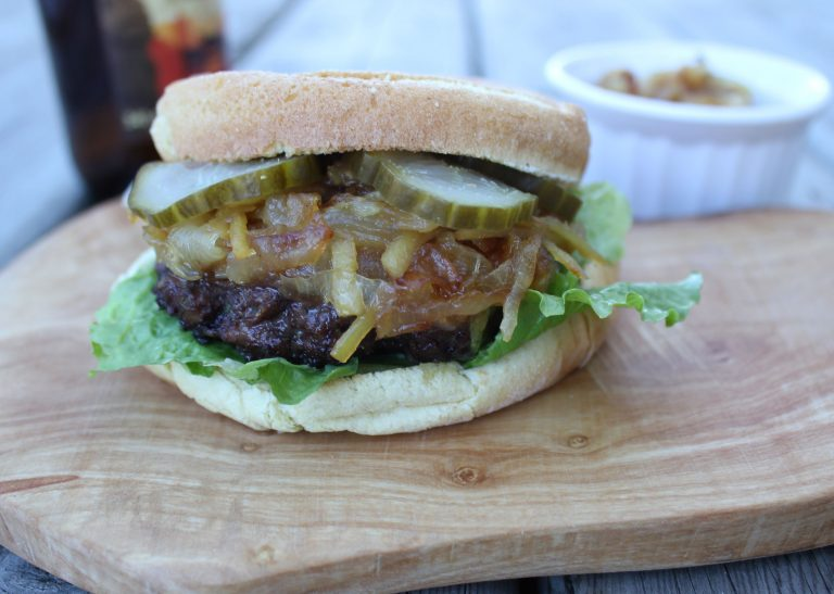 Ginger Beef Burger