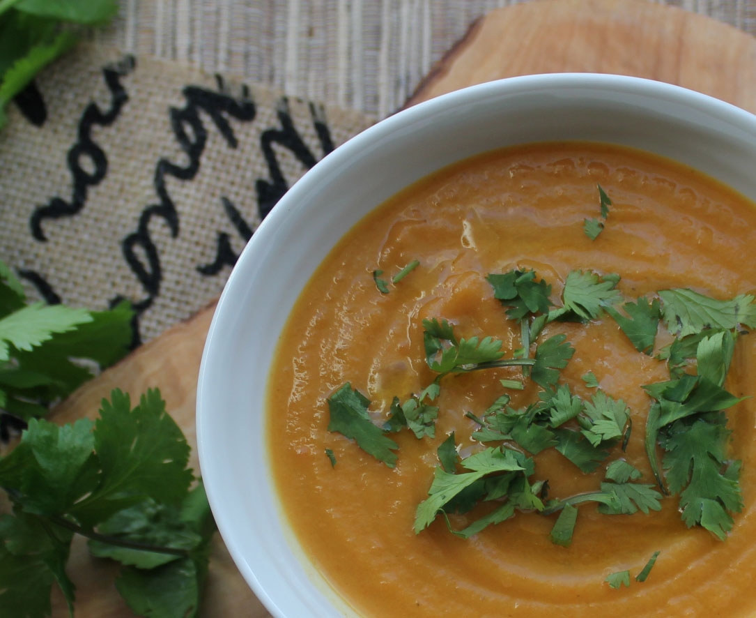 carrot coriander and cumin soup