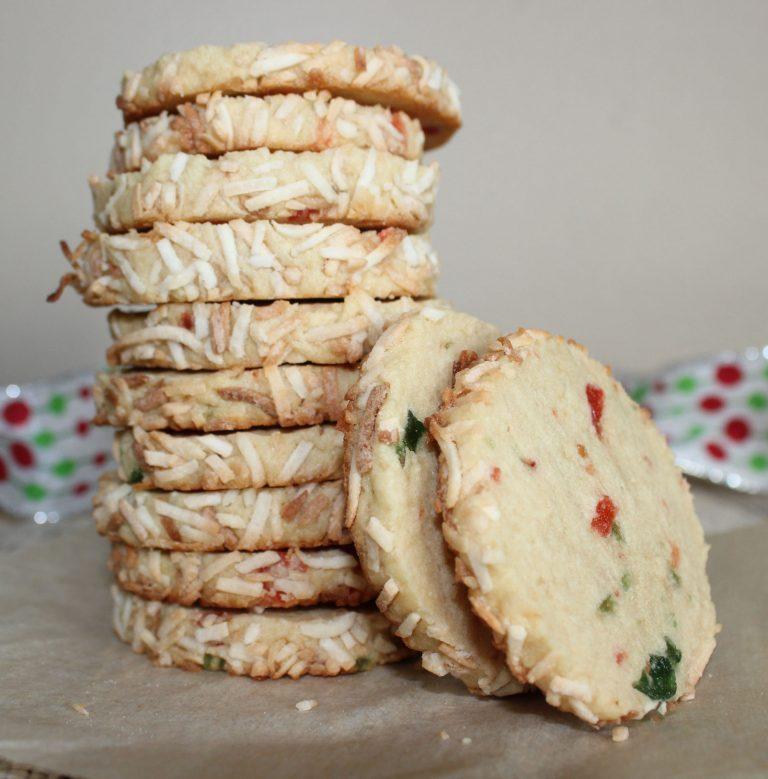Merry Cherry Ice Box Cookies