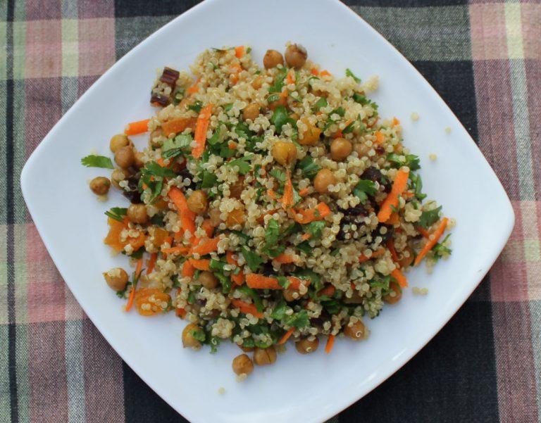 Moroccan Quinoa Salad
