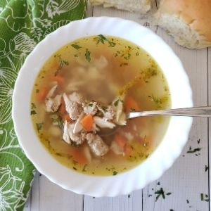 chicken sausage soup