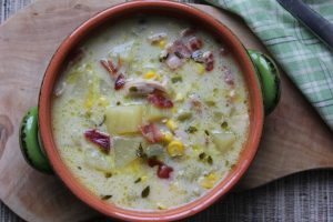 Turkey Bacon Corn Chowder