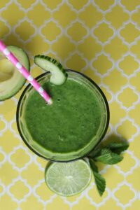 avocado green smoothi