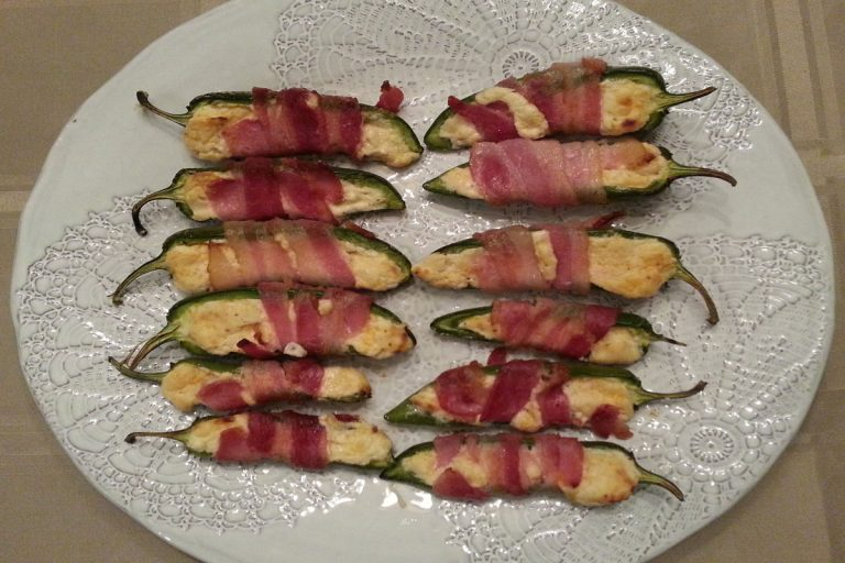 Bacon Wrapped Jalapeno Bites