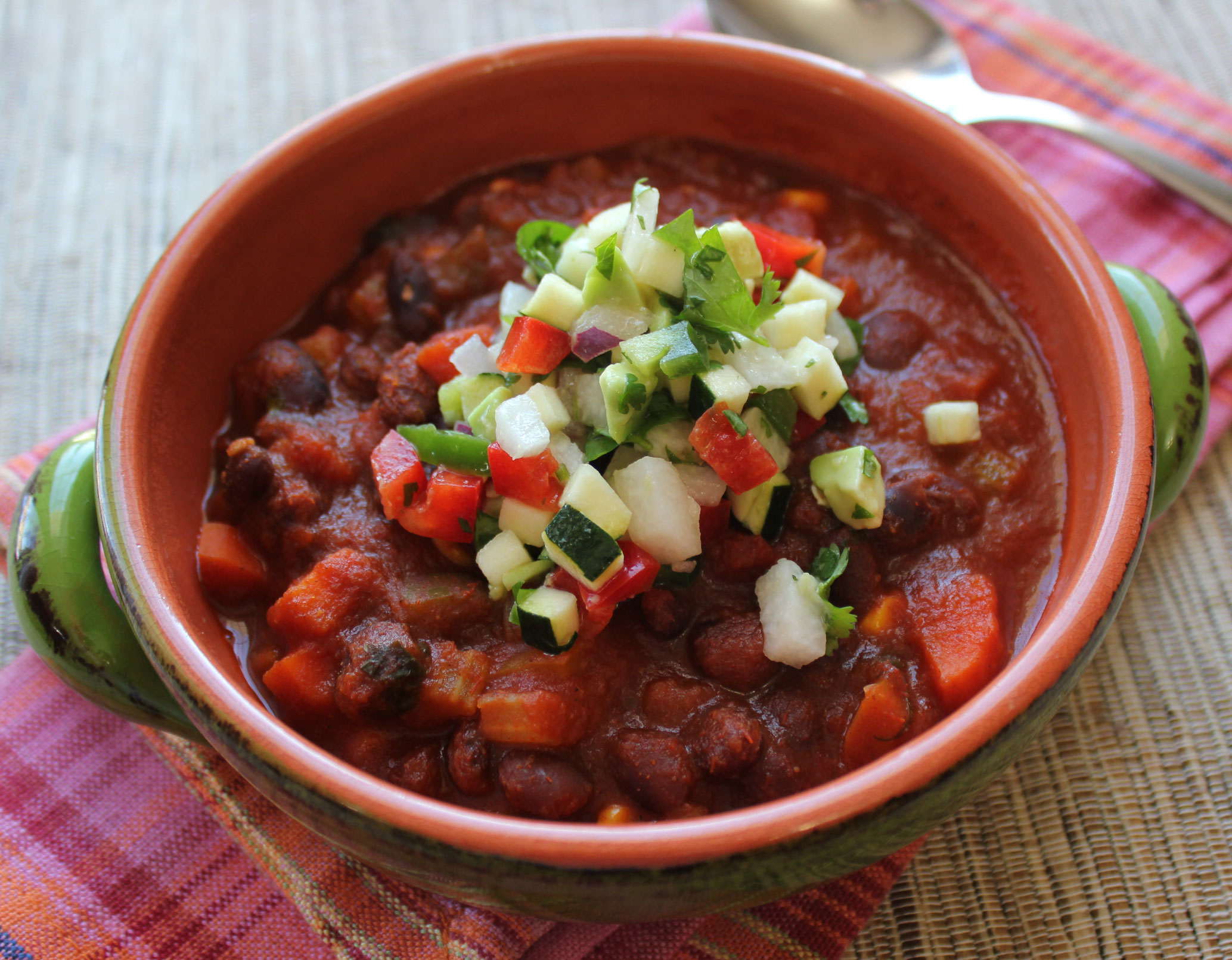 The Best Vegetarian Bean Chili Recipes — Dishmaps