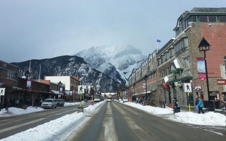 Road Trippin: A night in Banff