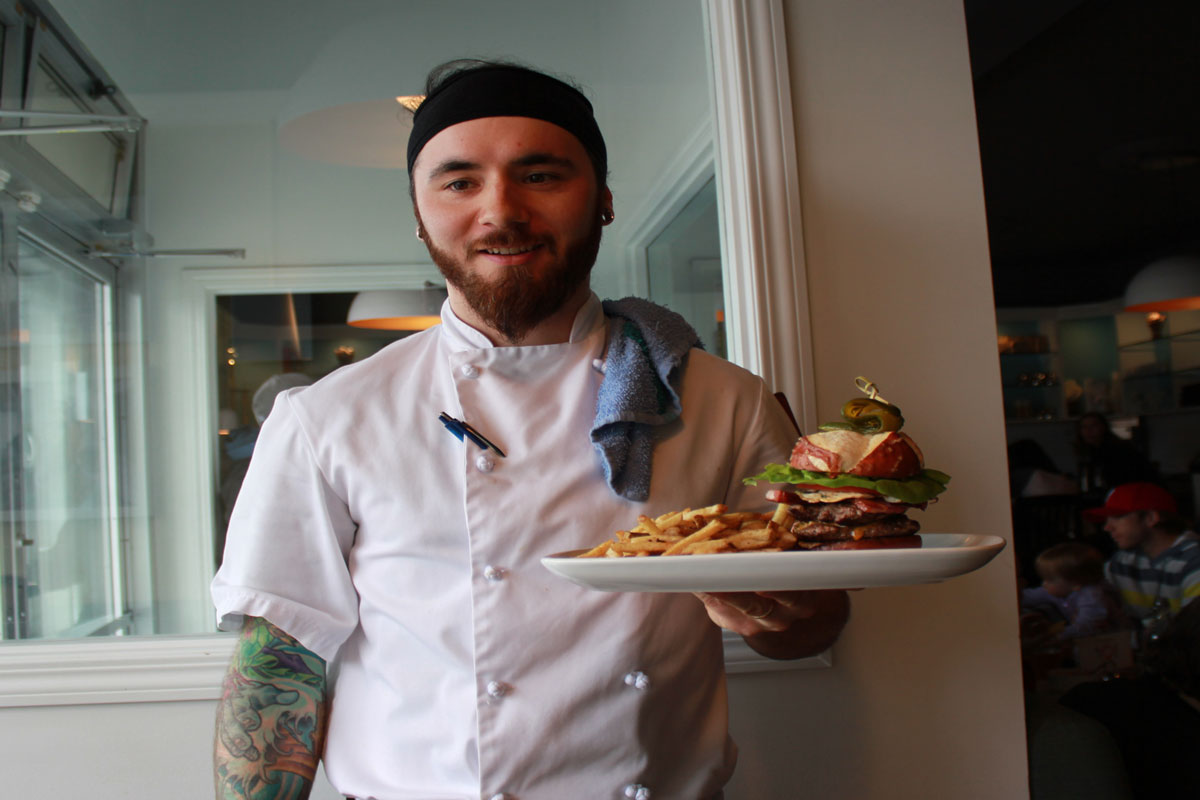Blue Star Diner, Chef Jarod Traxel