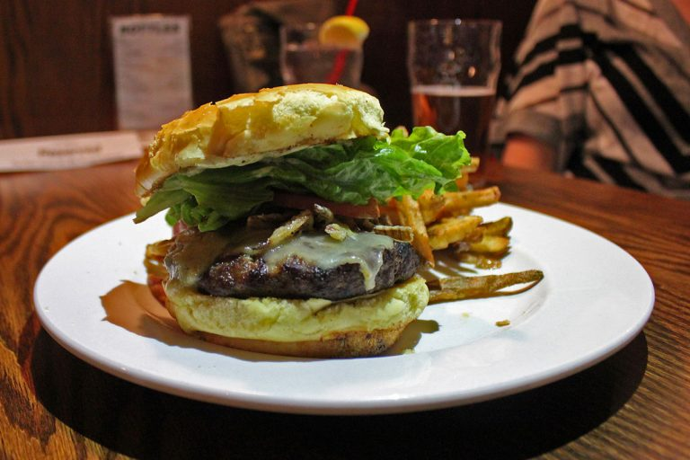 The Ship & Anchor's The Afterburner Burger for YYC Burger Week