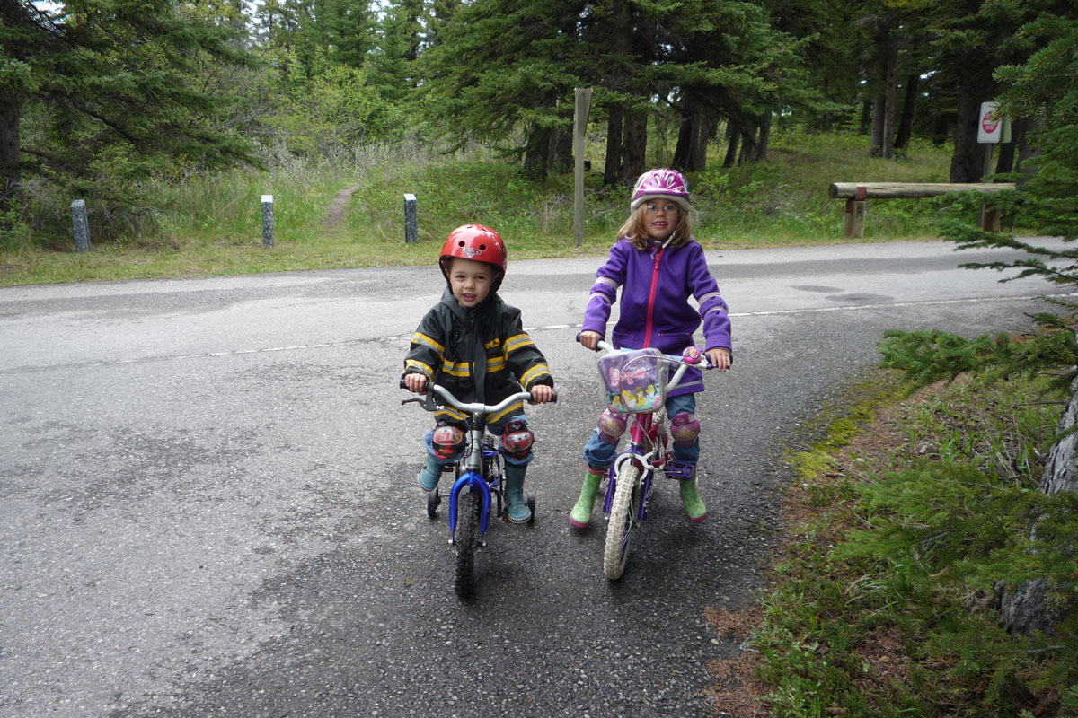 Bow Valley Campground Biking