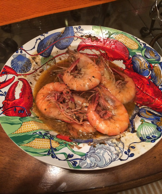 BBQ Shrimp from the Creole Cajun Chef