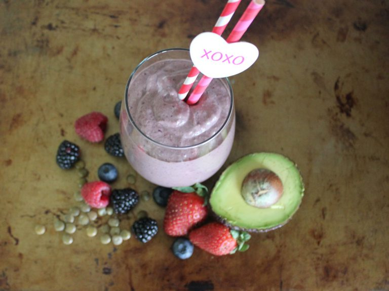Berry Lentil Smoothie
