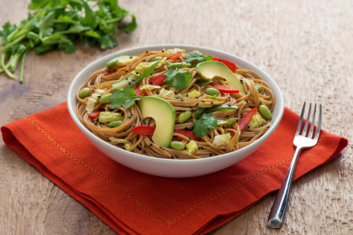 Lynn Crawford Chilled Noodle with Ginger Wasabi Dressing