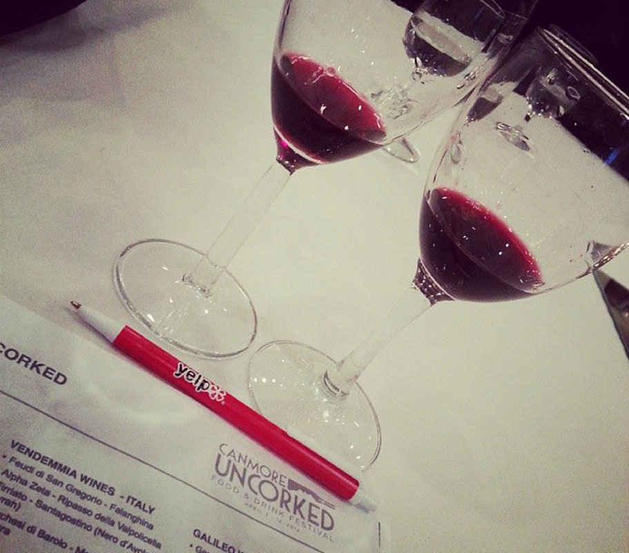 Canmore Uncorked Wine Tasting 2014