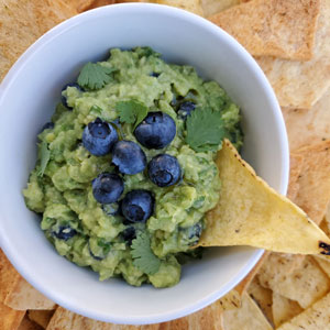 Blueberry Guacamole