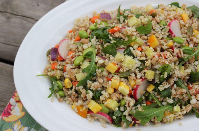 Grain Salad with Edamame