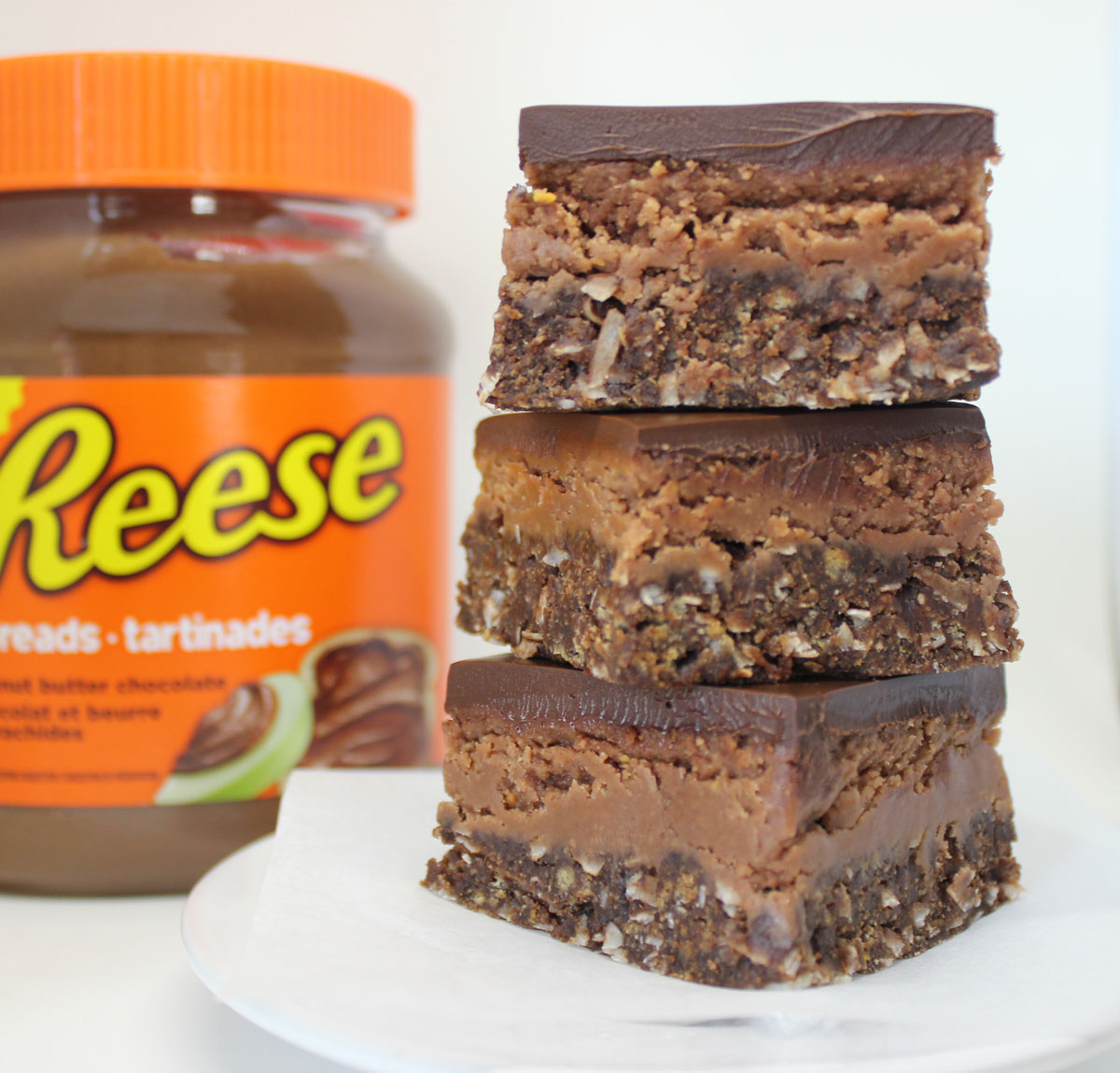 Reese's Peanut Butter Chocolate Nanaimo Bars
