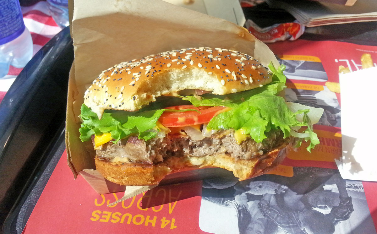 how to make burgers at mcdonalds