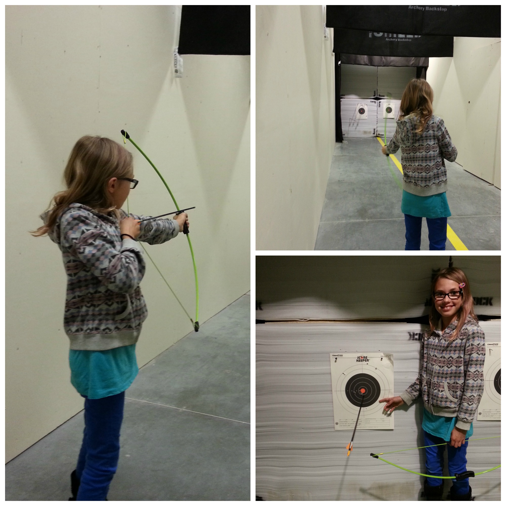 Cabela's Archery Range Calgary