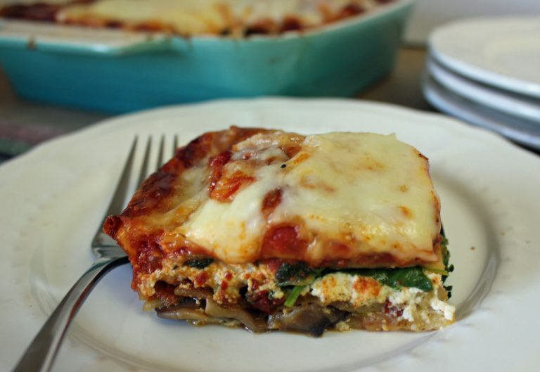 Vegetable Lasagna [Catelli® Gluten Free Lasagne Challenge]