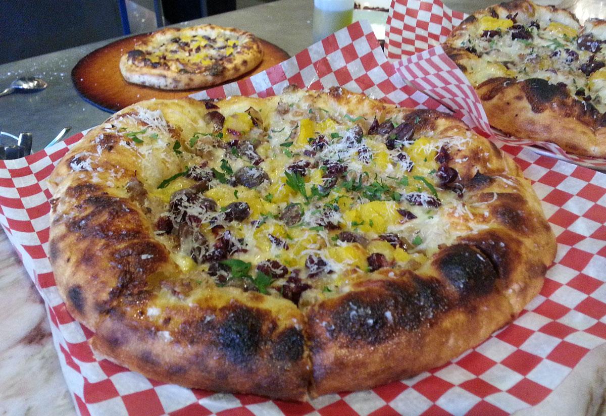 Canadian Thanksgiving Pizza from Cibo Calgary